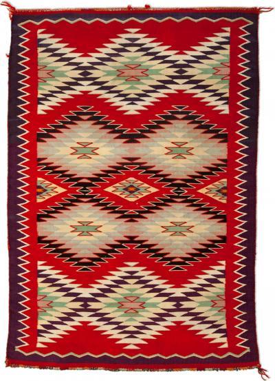Navajo Germantown Dazzler Saddle Blanket