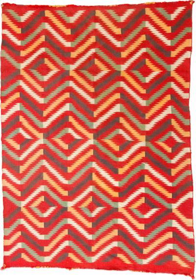 Navajo Germantown Eyedazzler Blanket