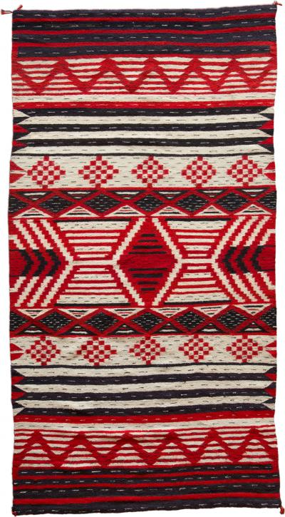 Navajo J B Moore Crystal Rug