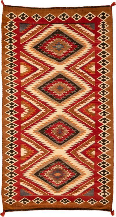 Navajo Red M esa Rug