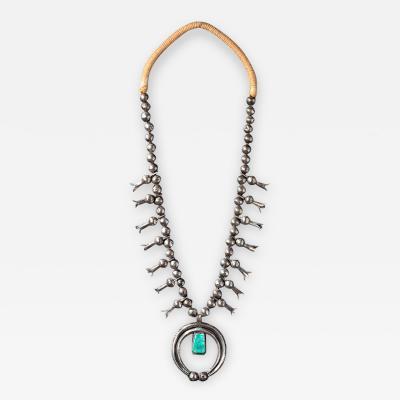 Navajo Squash blossom necklace 1900 to n1920