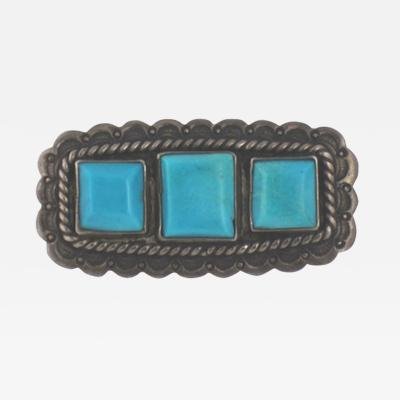 Navajo pin with Hubbell glass