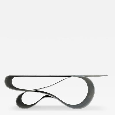 Neal Aronowitz Whorl Coffee Table From the Concrete Canvas Collection by Neal Aronowitz