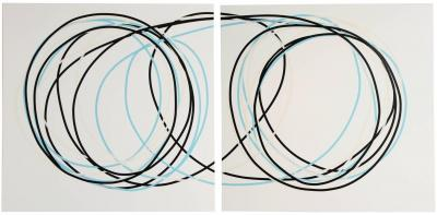 Neal Perbix Untitled Diptych