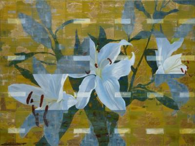Ned Martin GILDED LILY HORIZONTAL