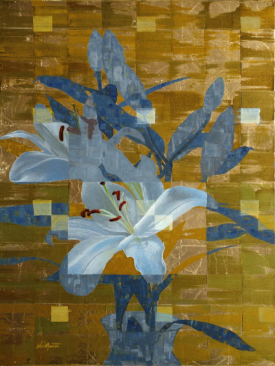 Ned Martin GILDED LILY VERTICAL