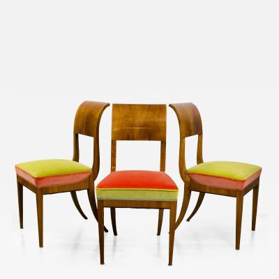 Neoclassic Biedermeier Side Chairs