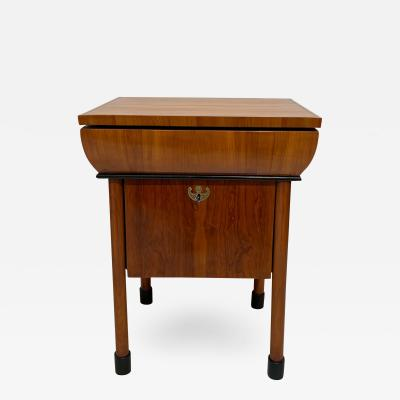Neoclassical Biedermeier Small Furniture Cherry Veneer Austria circa 1830