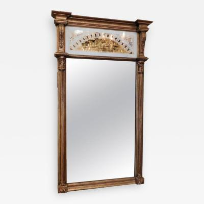 Neoclassical glomis Panel Mirror