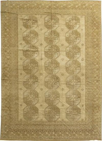 Neutral Asian Ersari Rug rug no j1630