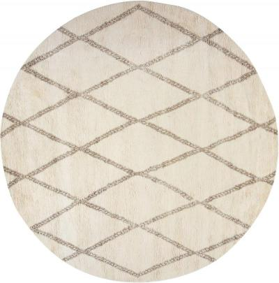 New Circular Moroccan rug
