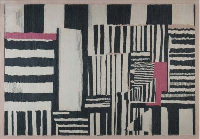 New Contemporary Flat Weave Rug