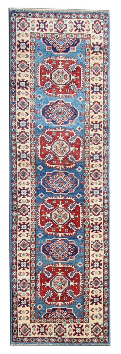 New Traditional Afghan Kazak Runner Rug