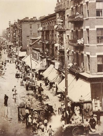 New York City Photograph Hester Street 1901