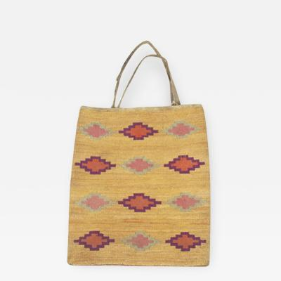 Nez Perces cornhusk bag