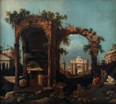 Nicholas Butler Capriccio With Ruins
