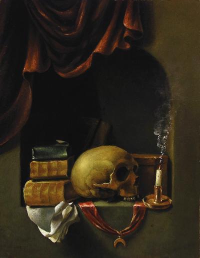 Nicholas Butler Contemporary copy of Vanitas by Francois Van Daellen