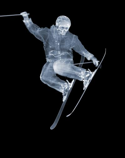 Nick Veasey Skier