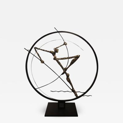 Nicola Rosini Original Sculpture by Nicola Rosini Saut du Cercle