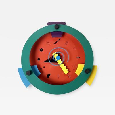 Nicolai Canetti Memphis Period Clock by Nicolai Canetti