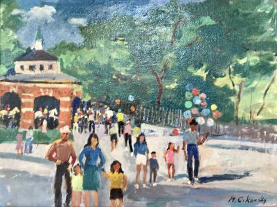 Nicolai Cikovsky Carousel in Central Park