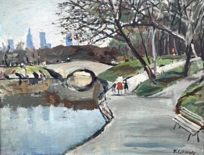 Nicolai Cikovsky Central Park New York