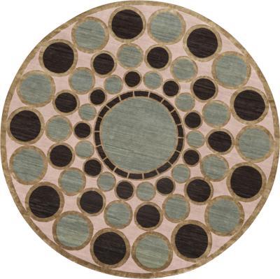 Nicolas Aubagnac BYZANCE circular Persian rug by Nicolas Aubagnac