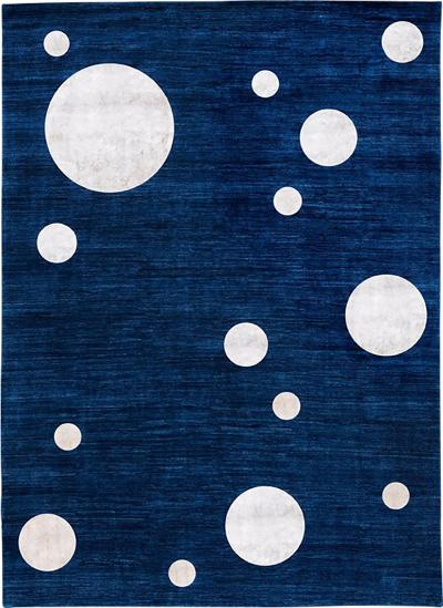 Nicolas Aubagnac SATURNE Contemporary Persian rug by Nicolas Aubagnac