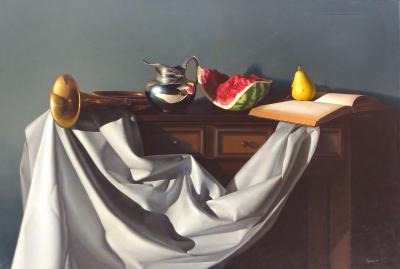Nicolas Fasolino Oil on Canvas Still Life by Nicolas Fasolino Argentina b 1977
