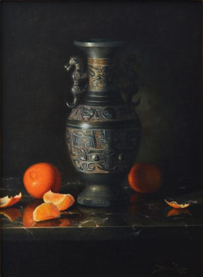 Nicole Klassen The Bronze Vase