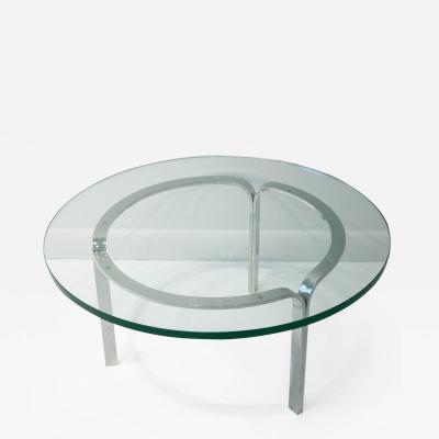 Nicos Zographos Nicos Zographos Ribbon Steel Cocktail Table