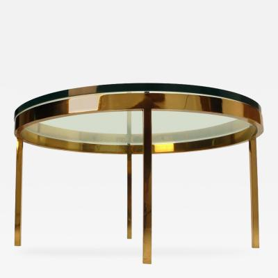 Nicos Zographos Nicos Zographos Solid Brass Coffee Table