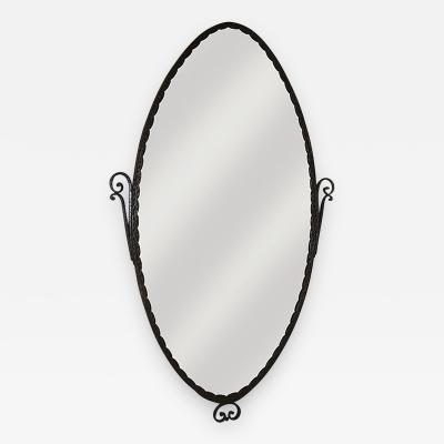 Nics Fr res Art Deco Forged Iron Mirror