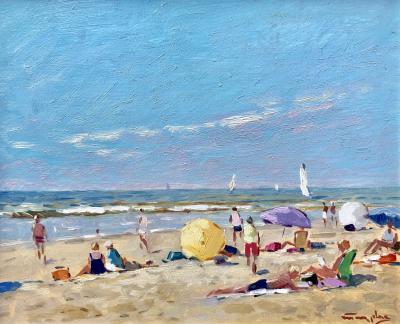 Niek Van der Plas Perfect Beach Day