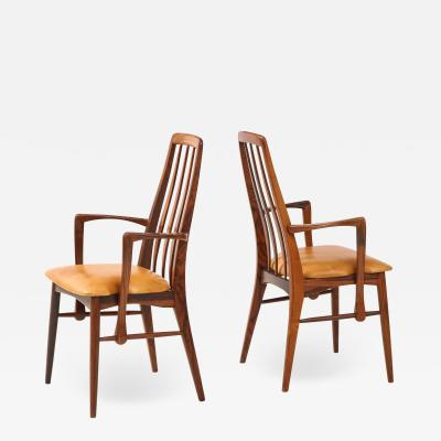 Niels Koefoed Danish Teak Chairs by Niels Koefoed