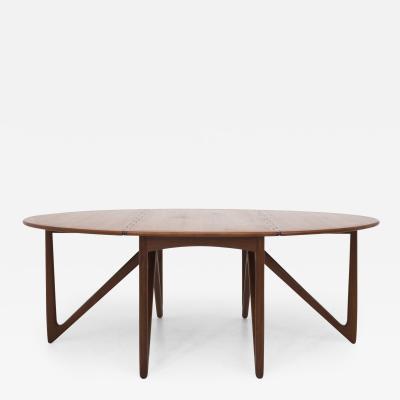 Niels Koefoed Gateleg Dining Table