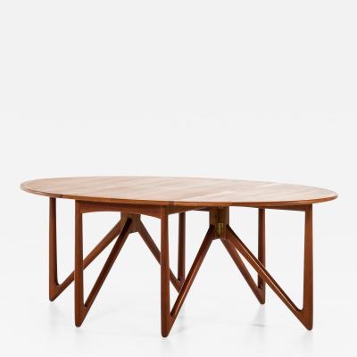 Niels Koefoed Gateleg Dining Table Produced by Niels Koefoed