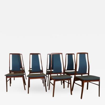 Niels Koefoed Mid century dining chairs