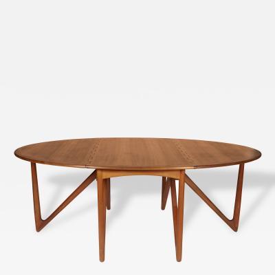 Niels Kofoed Niels Kofoed Drop Leaf Teak Dining Table