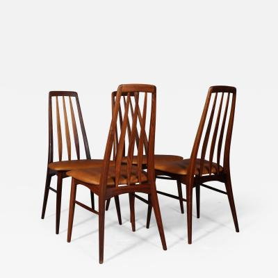 Niels Kofoed Niels Kofoed Set of four dining chairs made of solid rosewood 4