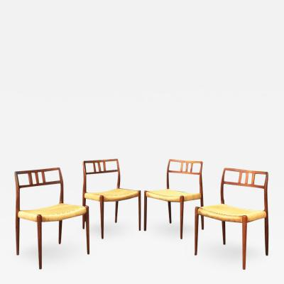 Niels Otto M ller Danish chairs by N Moller for J L Mollers Mobelfabrik 1966s
