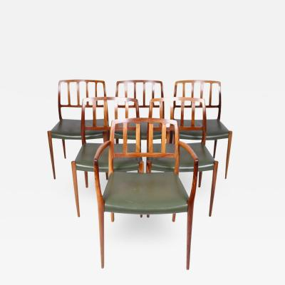 Niels Otto M ller Dining Chairs Model 66 83