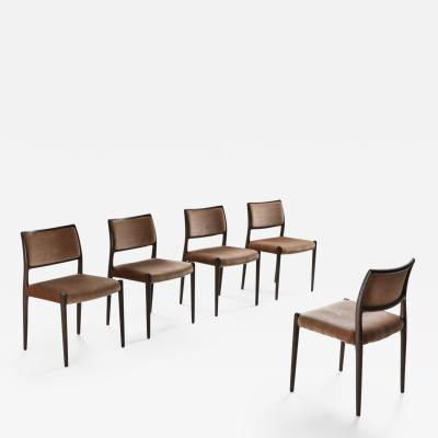 Niels Otto M ller M ller Dining Chairs 1960s