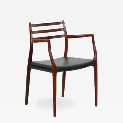 Niels Otto M ller Model No 62 Rosewood Arm Chair by Niels M ller Denmark circa 1962