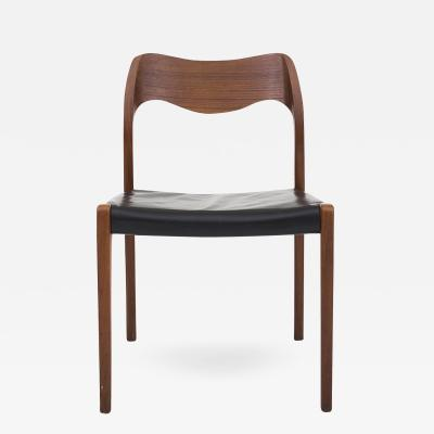 Niels Otto M ller NO 71 Dining Chair in Teak
