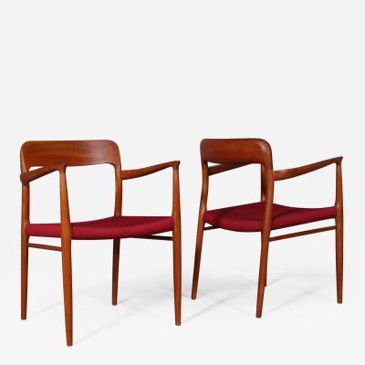 Niels Otto M ller Niels O M ller Solid teak armchair model 56