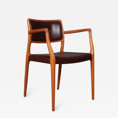 Niels Otto M ller Niels O M ller Teak armchair model 65