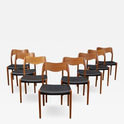 Niels Otto M ller Niels O Moller Dining Chairs Model 71