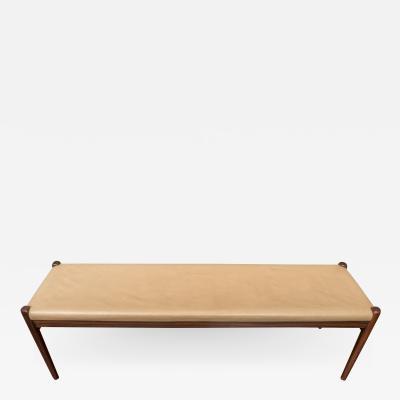 Niels Otto M ller Scandinavian Modern Rosewood Bench by Niels Moller Model 63