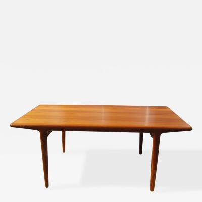Niels Otto M ller Teak Dining Table with Extensions by Niels M ller